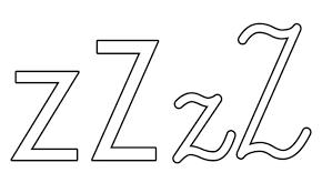 Nauka pisania litery Z, karty pracy dla przedszkolaków, uczniów do druku